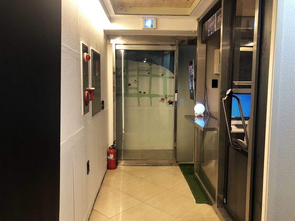 apollo guesthouse reception hallway