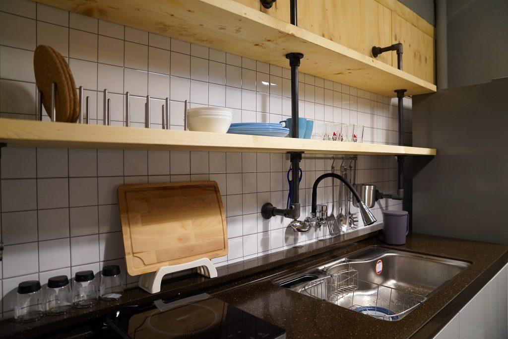 apollo guesthouse kitchen
